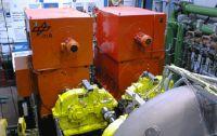 Motoren und Getriebesatz